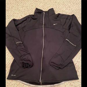 Nike zip up light weight jacket